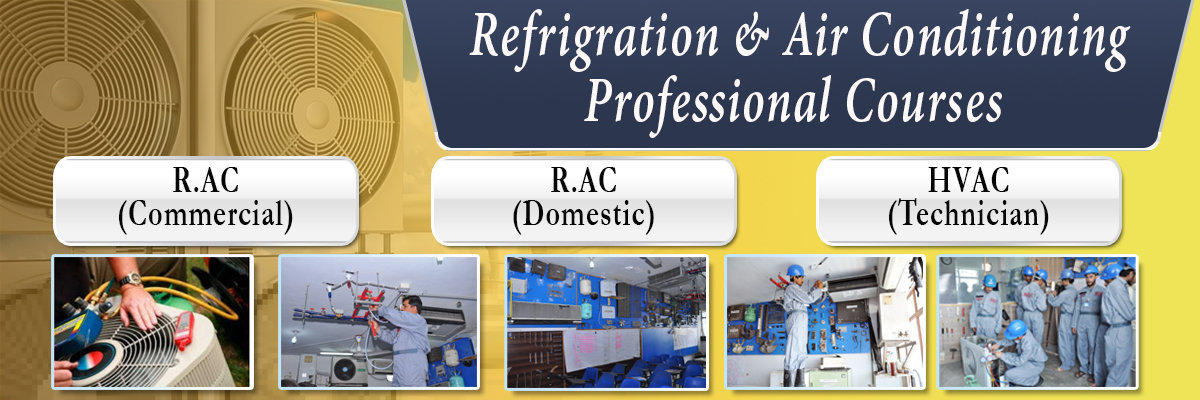 Refrigeration & Air Conditioning Courses in rawalp